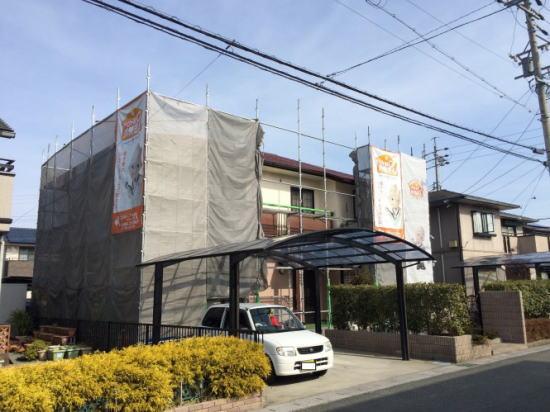 平成町T様塗り替え工事 施工前