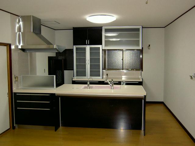 キッチンの全景