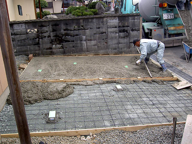 コンクリート打ち