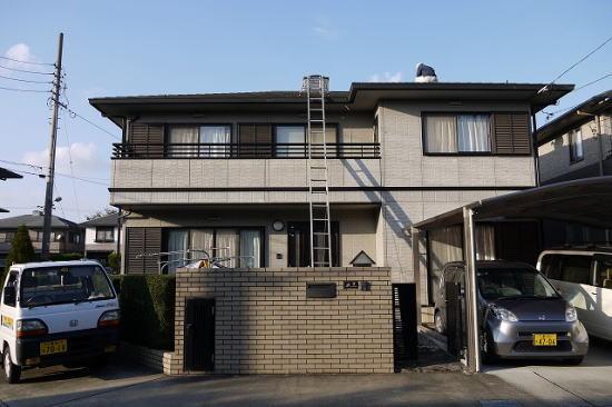 松阪市平成町Y様邸 屋根・外壁塗り替え工事 施工前