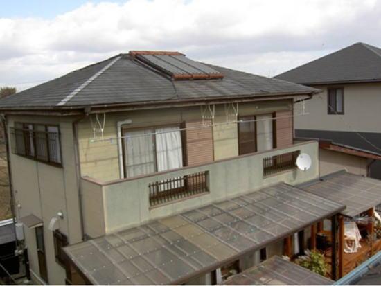 松阪市 I様邸 外壁屋根塗装・屋根葺き替え その他 施工前