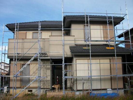 松阪市日丘町 N様邸 外壁塗装 施工前