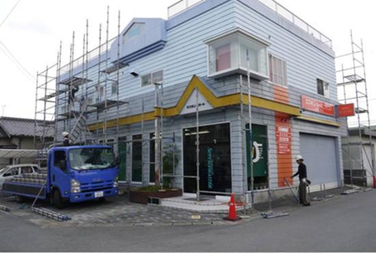 松阪市五反田町 ㈱ダスキンレガート様 外壁塗装 施工前
