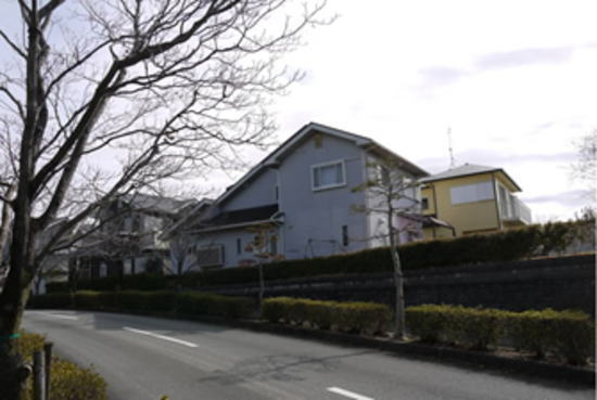 松阪市虹が丘町 N様邸 外壁屋根塗装 施工前
